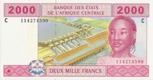 billete francos cfa